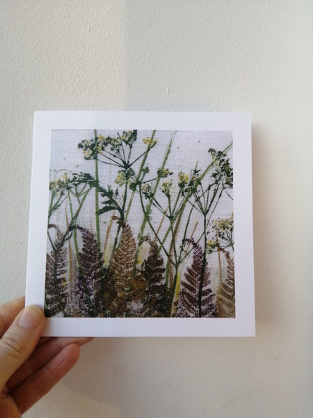 Summer Verge Art Greetings Card