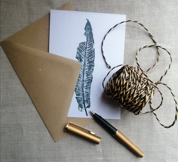 Little Leaf Postcard and Envelope Set