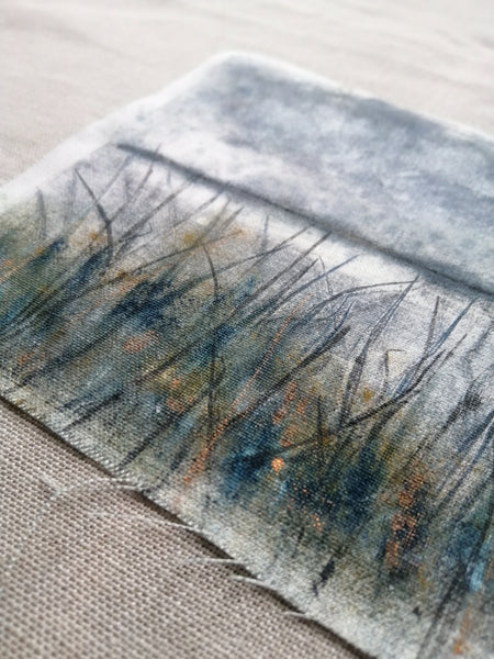'Reeds and Rushes' Irish Linen Original