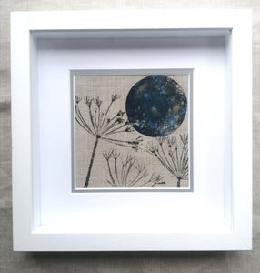 'Samhain Moon' Original Artwork on Irish Linen