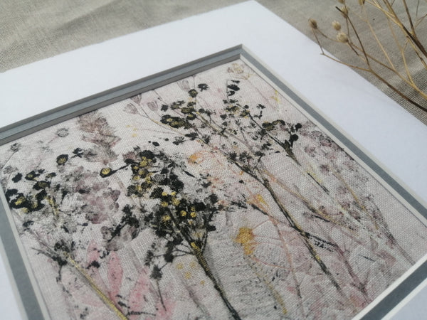 'Fading' Original Artwork on Irish Linen