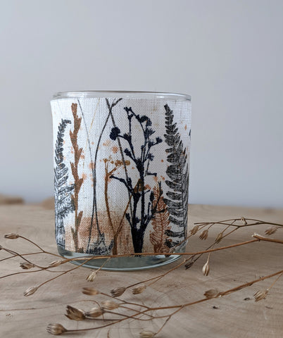 SOLAS\Light: Hand-printed Irish Linen Votive