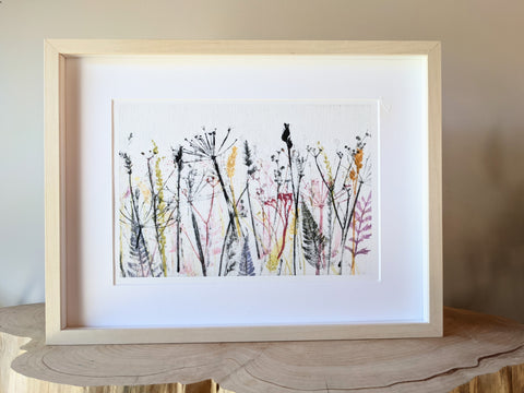 Vibrant Meadow A3 Giclee Art print