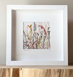 Late Spring Meadow Artwork on Irish Linen