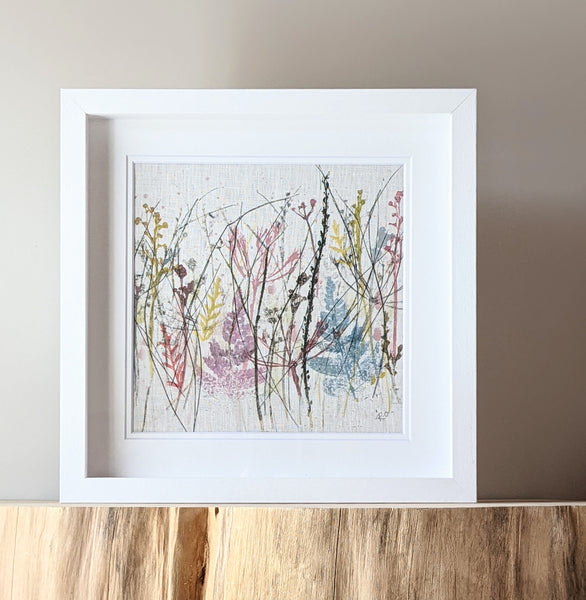 Wild Meadow Framed Original Artwork