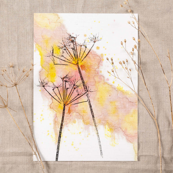 Autumn Sunset Giclee Art Print