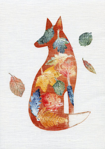 Autumn Fox Giclee Art Print