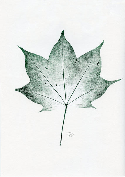Little Leaf 'Sycamore' Monoprint
