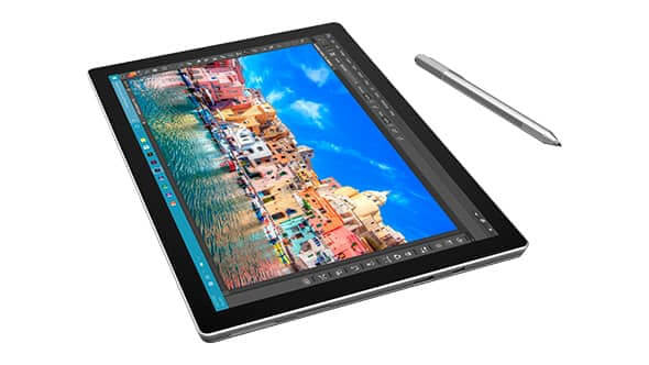 Tablette Microsoft Surface Pro 4 - Intel Core(TM) i5-6300U CPU 2,4GHZ - Disque dur 128 Go - RAM 4 Go