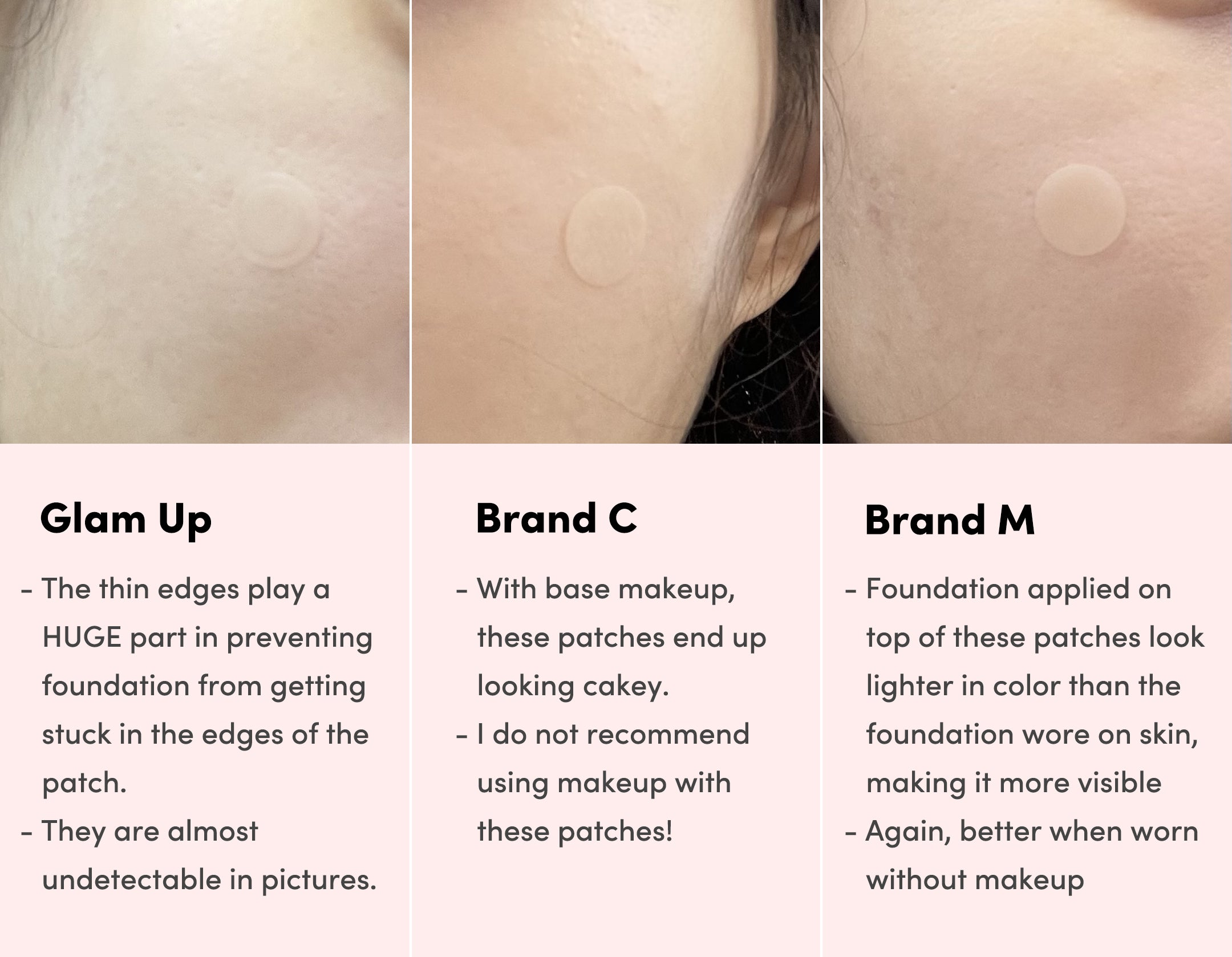 invisible patch, pimple patch, hydrocolloid patch