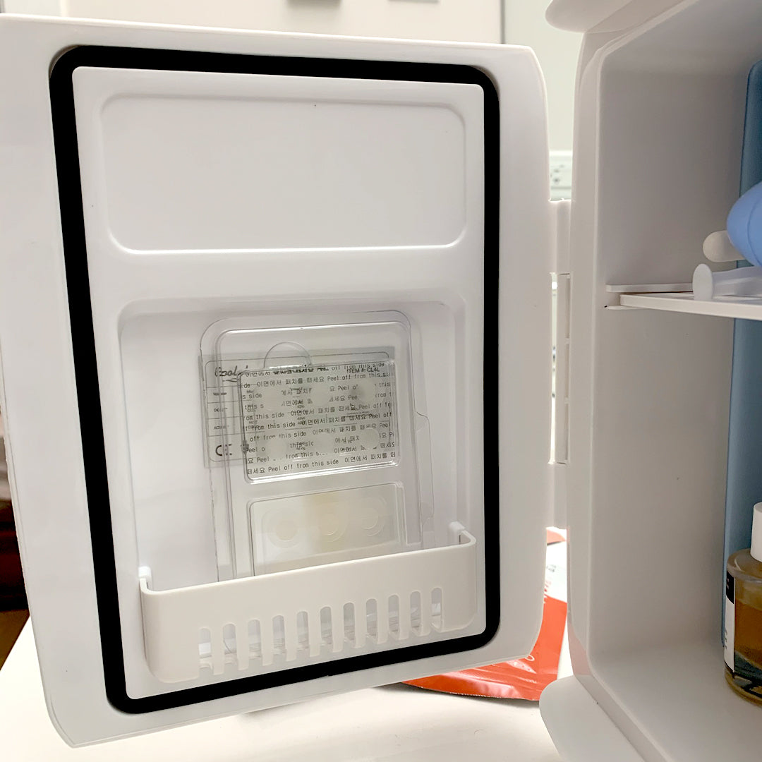 pimple patch in a mini-fridge