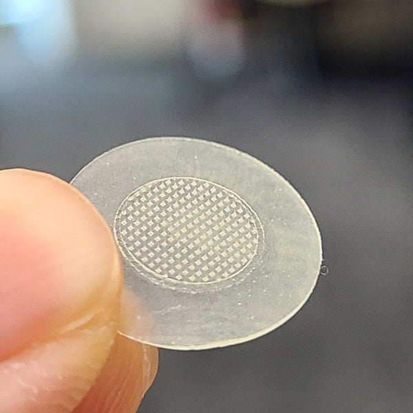 microneedle patch zoomed in