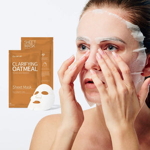 Glam up - Sheet Mask by Glam up	Clarifying Oatmeal 1ea
