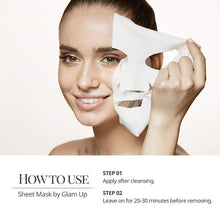 Load image into Gallery viewer, Glam up - Sheet Mask by Glam up	Nourishing Shea Butter 10 Pack