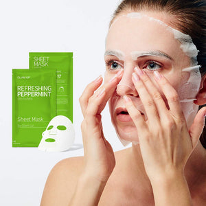 Glam up - Sheet Mask by Glam up	Refreshing Peppermint 10 Pack