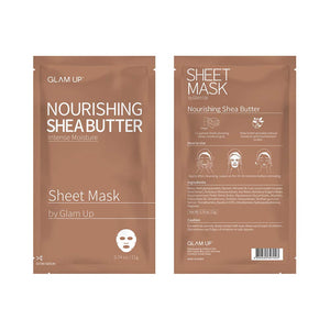 Glam up - Sheet Mask by Glam up	Nourishing Shea Butter 10 Pack