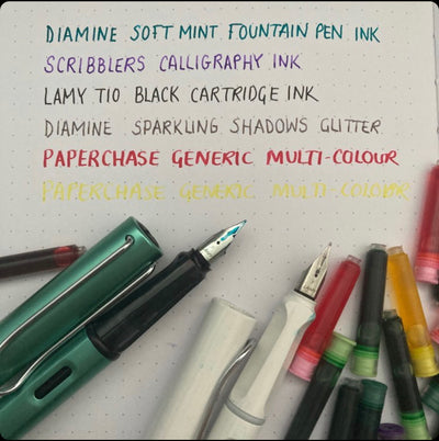 Ink Pot journals are perfect for fountain pens