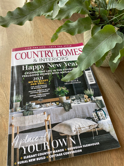 The Ink Pot features in Country Homes & Interiors