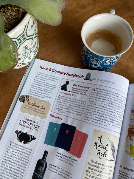 The Ink Pot features in Country Life magazine
