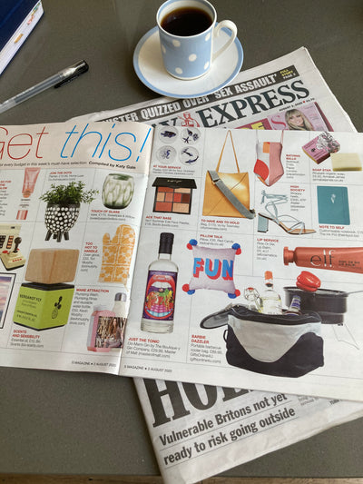 The Ink Pot is featured in the Sunday Express Magazine