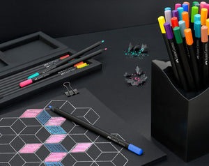 Faber-Castell Black Edition 12-pack colouring pencils