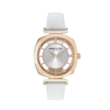 Laden Sie das Bild in den Galerie-Viewer, Kenneth Cole New York Damen Uhr Armbanduhr Leder KC15108003