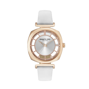 Kenneth Cole New York Damen Uhr Armbanduhr Leder KC15108003