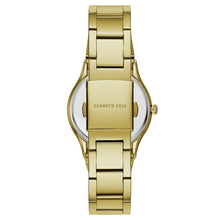 Laden Sie das Bild in den Galerie-Viewer, Kenneth Cole New York Damen-Armbanduhr Analog Quarz Edelstahl KC50061001