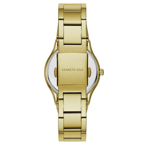 Kenneth Cole New York Damen-Armbanduhr Analog Quarz Edelstahl KC50061001