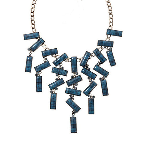 Konplott Kette Collier Float to the Rhytm blue