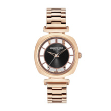 Laden Sie das Bild in den Galerie-Viewer, Kenneth Cole New York Damen Uhr Armbanduhr Edelstahl KC15108001