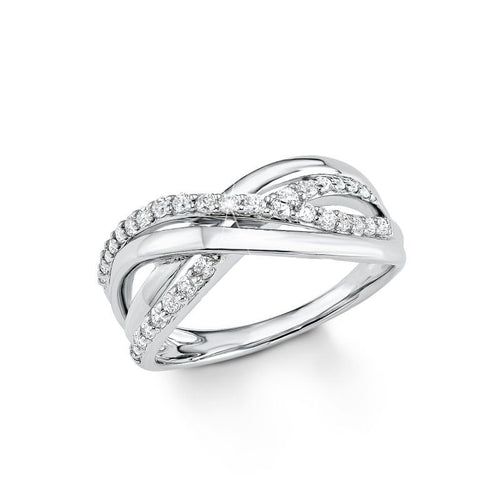 s.Oliver Jewel Damen Ring Silber Zirkonia SO1135