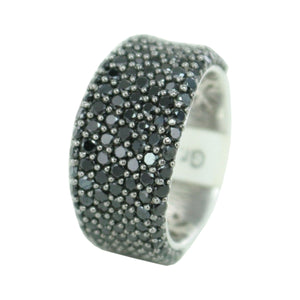 Esprit Collection Damen Ring Silber schwarz Zirkonia Aphrodite ELRG91614B