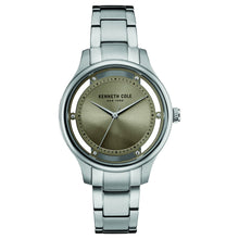 Laden Sie das Bild in den Galerie-Viewer, Kenneth Cole New York Damen-Armbanduhr Analog Quarz Edelstahl 10030795