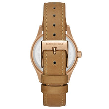 Laden Sie das Bild in den Galerie-Viewer, Kenneth Cole New York Damen-Armbanduhr Analog Quarz Leder 10030801