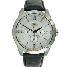 Laden Sie das Bild in den Galerie-Viewer, Hugo Boss Black Herren Uhr Leder 1512892