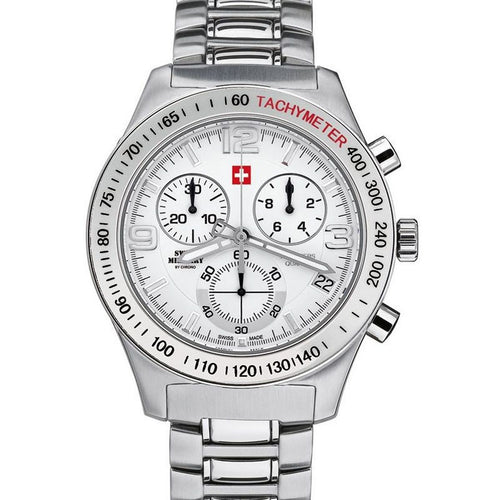 Swiss Military by Chrono Herren Uhr 20074ST-2M