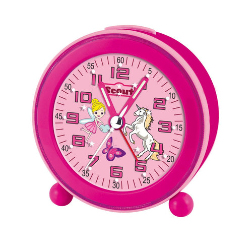 Scout Mädchen Wecker Alarm Clock NightLight LED Pink 280001008
