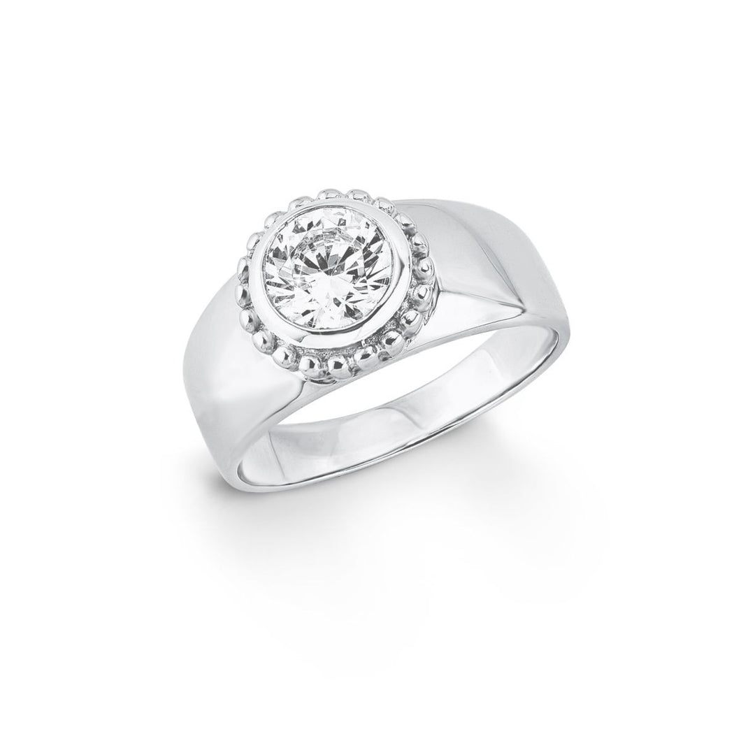 s.Oliver Jewel Damen Ring Silber Zirkonia SO1399