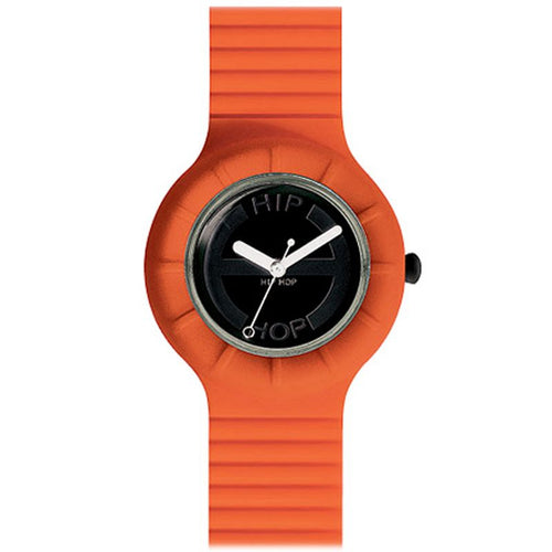 Hip Hop Uhr Silikonuhr Hero small HWU0002 orange