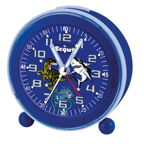 Scout Jungen Wecker Alarm Clock NightLight LED blau 280001007