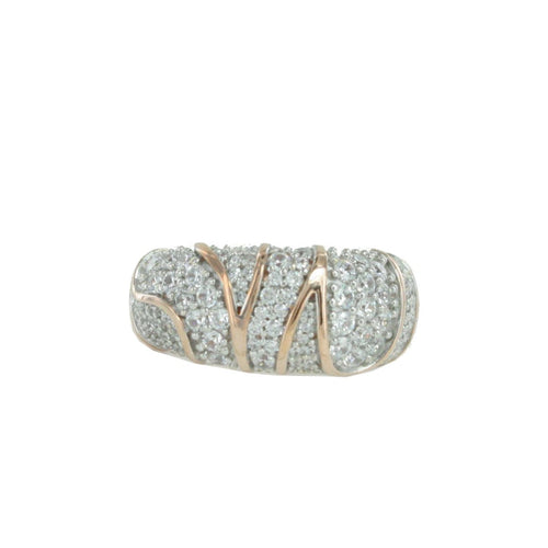Esprit Collection Damen Ring Silber Rosé Zirkonia Adelphia Gr.18 ELRG92513B180-1
