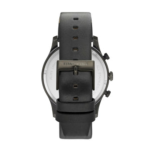 Kenneth Cole New York Herren Uhr Armbanduhr Leder KC15106004