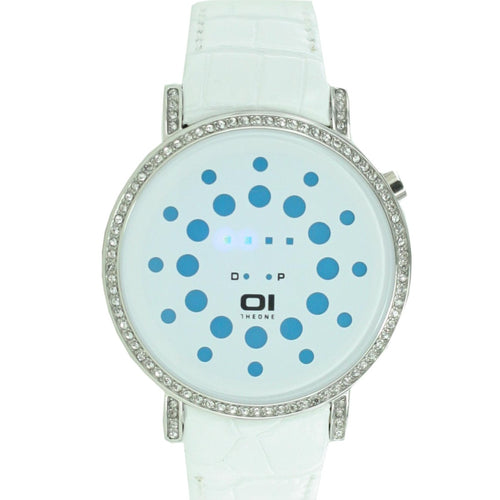 The One Binary Uhr Unisex Odins Range - Blue ORS504B1 Leder