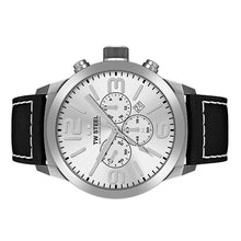 Laden Sie das Bild in den Galerie-Viewer, TW Steel Herren Uhr Armbanduhr Chrono Marc Coblen Edition TWMC35 Lederband