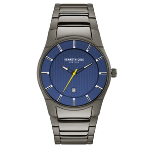 Kenneth Cole New York Herren-Armbanduhr Analog Quarz Edelstahl KC15103012