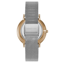 Laden Sie das Bild in den Galerie-Viewer, Kenneth Cole New York Herren-Armbanduhr Analog Quarz Edelstahl KC15183003