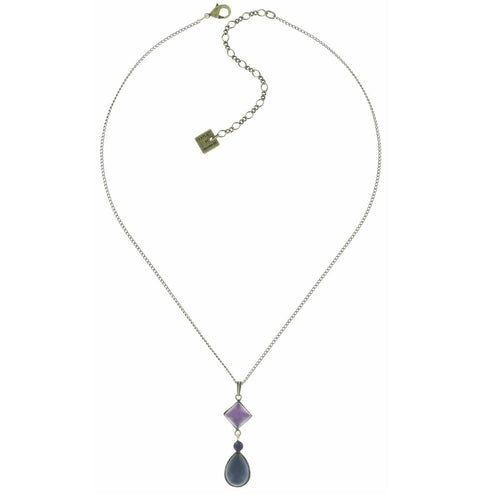 Konplott Kette Collier Jelly Fish Wedding lila