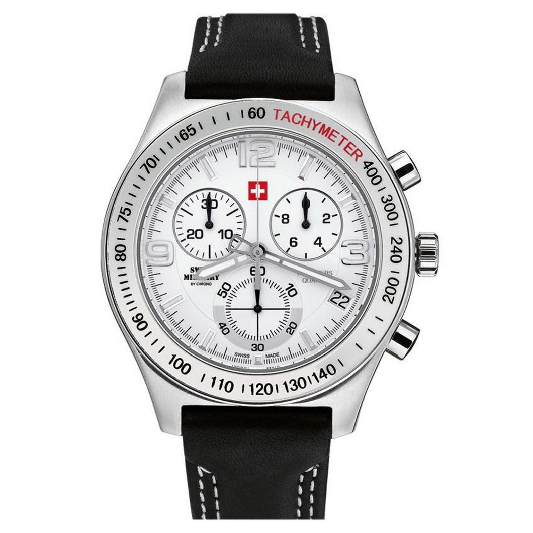 Swiss Military by Chrono Herren Uhr 20074ST-2L