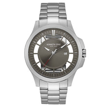 Laden Sie das Bild in den Galerie-Viewer, Kenneth Cole New York Herren-Armbanduhr Analog Quarz Edelstahl 10027446